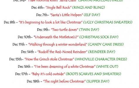 12 Days to Get In Holiday Spirit