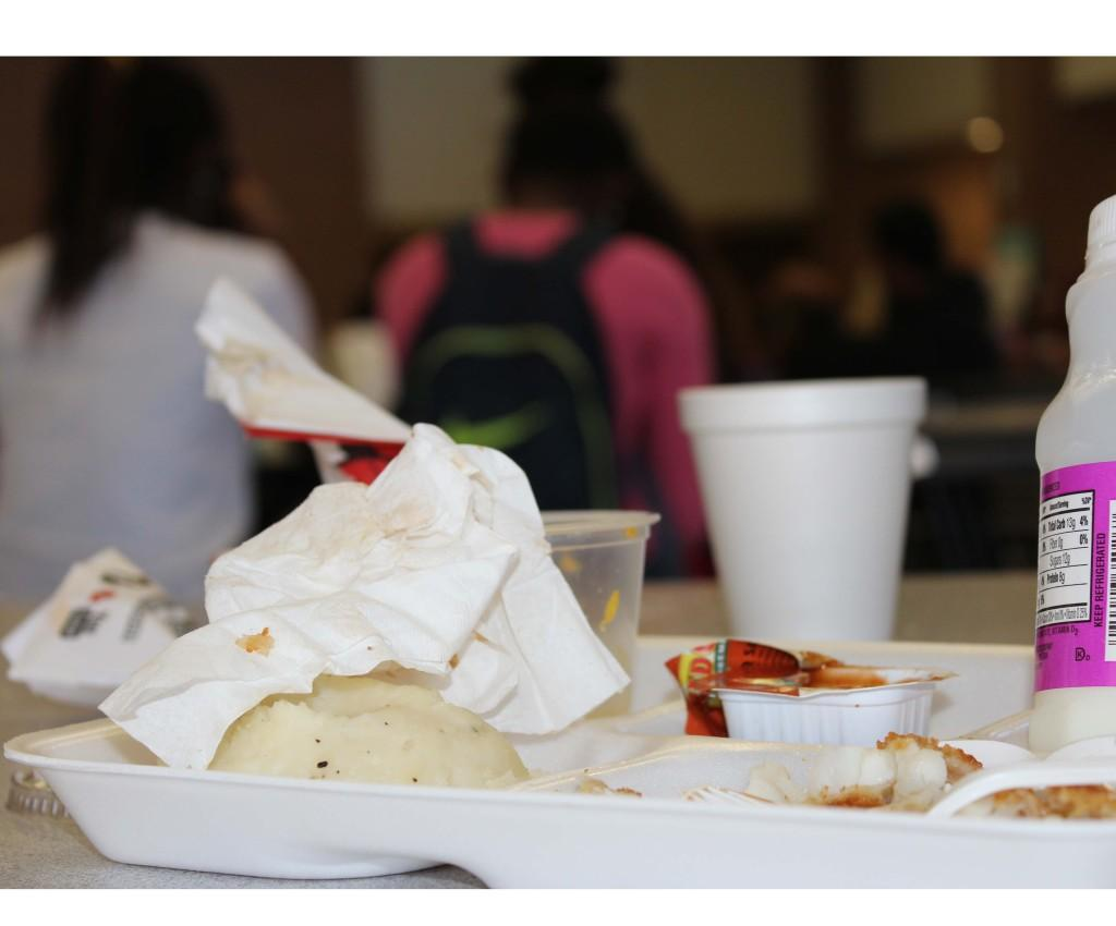 Clean cafeteria tables - Students Need To Make Sure To Pick Up