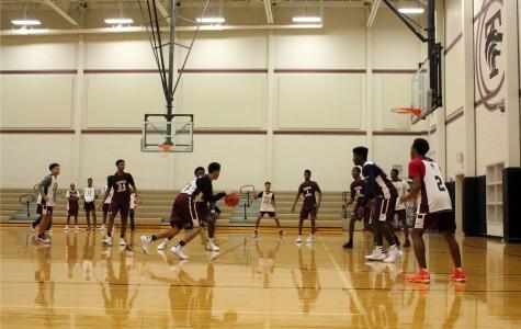 Varsity Boys Basketball Wins Against Mustangs