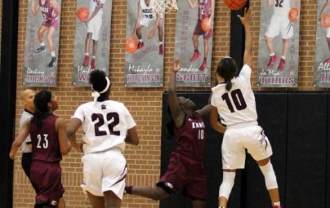 Varsity Girls Basketball Wins First Playoff Game