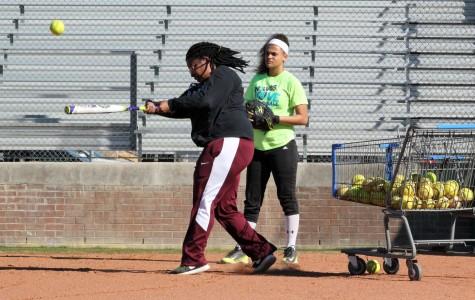 Softball Girls Host First Scrimmage