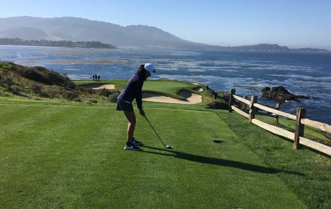 Azarcon Plays with PGA Golfer in California