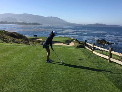 Azarcon Plays with PGA Golfer in California