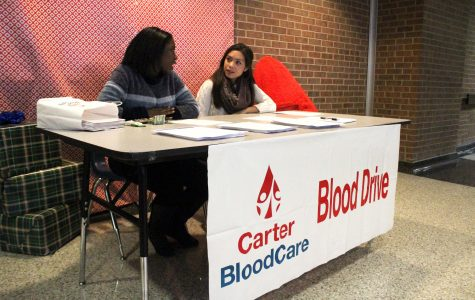 Blood Drive Forms Due Next Week