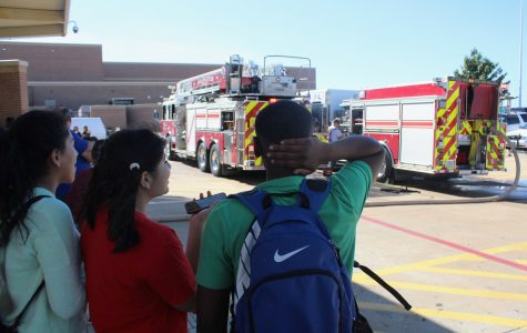 Students Evacuate Due to Small Fire