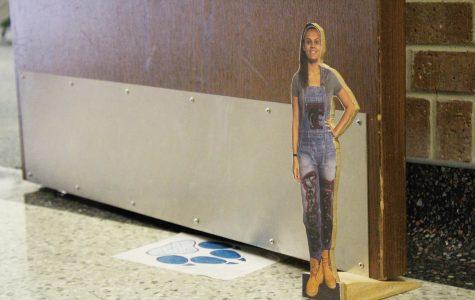 Doorstops Used to Raise $1,000 for HOG Week