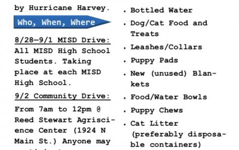 Hurricane Donations Due This Week
