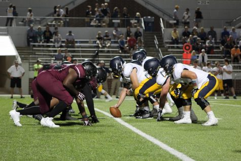 Varsity Football Team loses against Defending State Champion