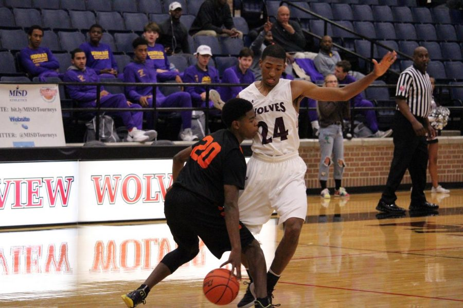 The Varsity Boys Basketball lost 60-65 at a tournament held at North Crowley High School.