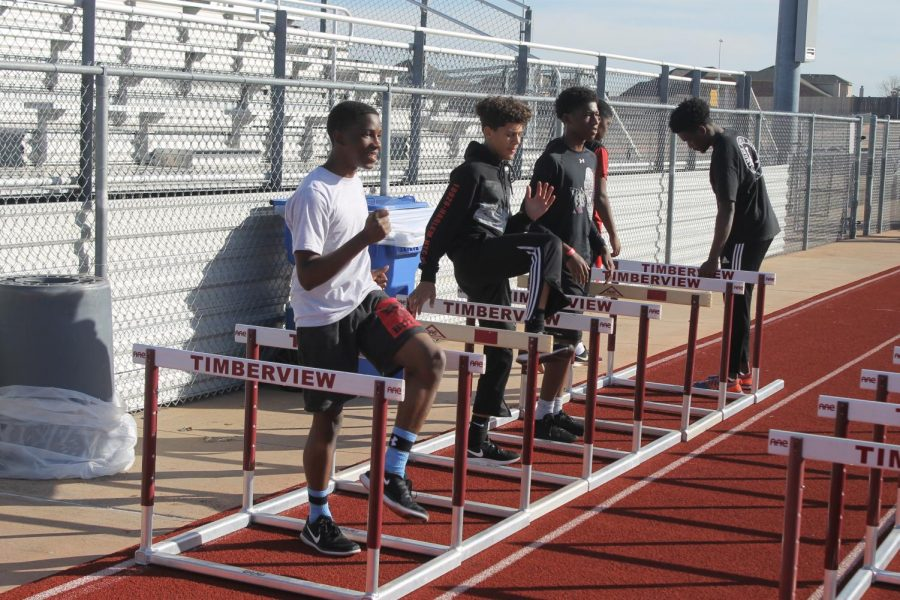Track prepares for their upcoming meets.