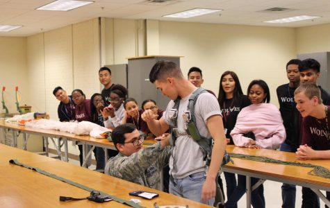 JROTC Visits Altus Air Force Base