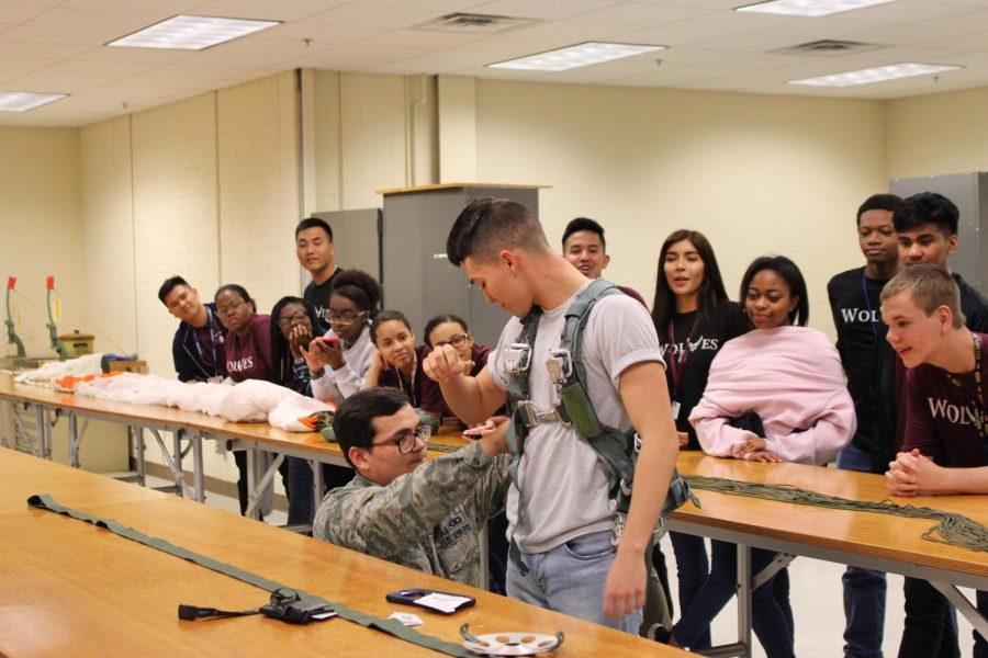 JROTC Visits Altus Air Force Base