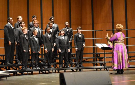 Choir Perform Annual Fall Concert