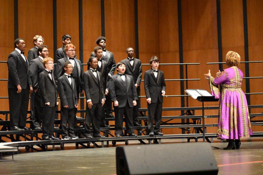 Choir Perform Annual Fall Concert