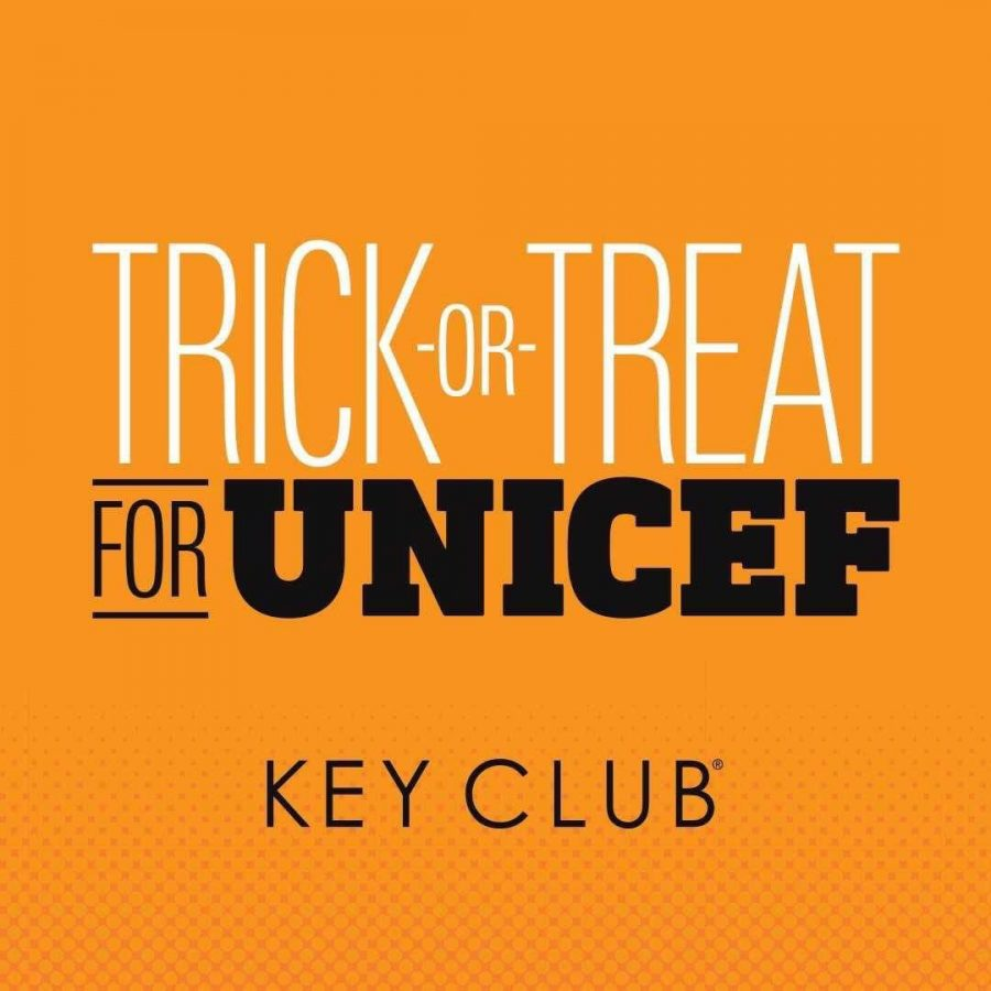 Key Club Collects Donations for Trick-or-Treat UNICEF Initiative