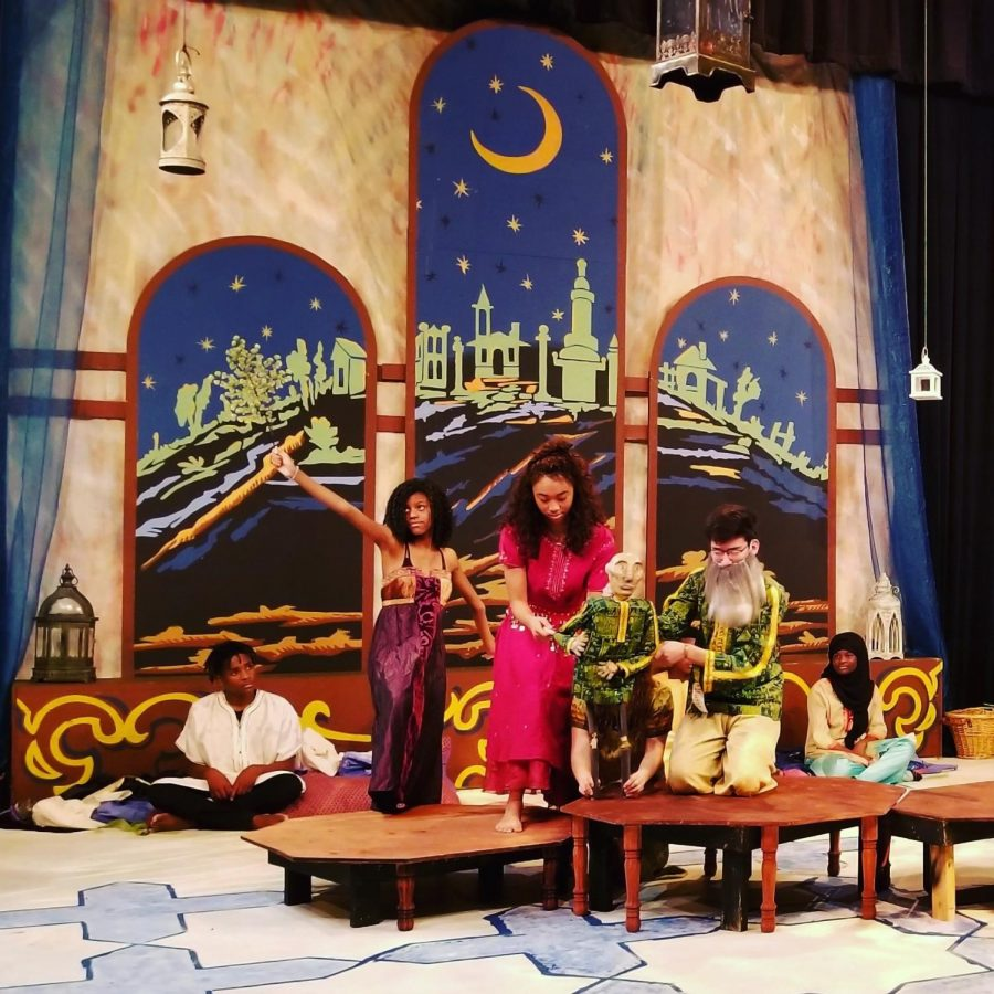 Theatre Incorporates Audience on Stage in Arabian Nights Production