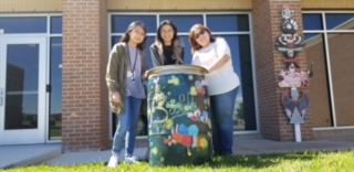 Art Continues Painted Rain Barrel Tradition