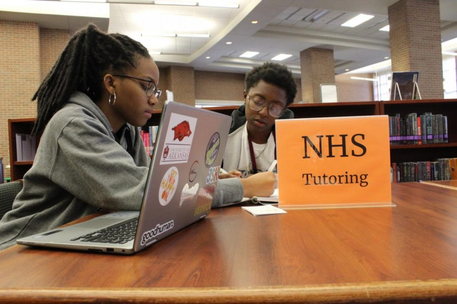 NHS Provides Peer Tutoring