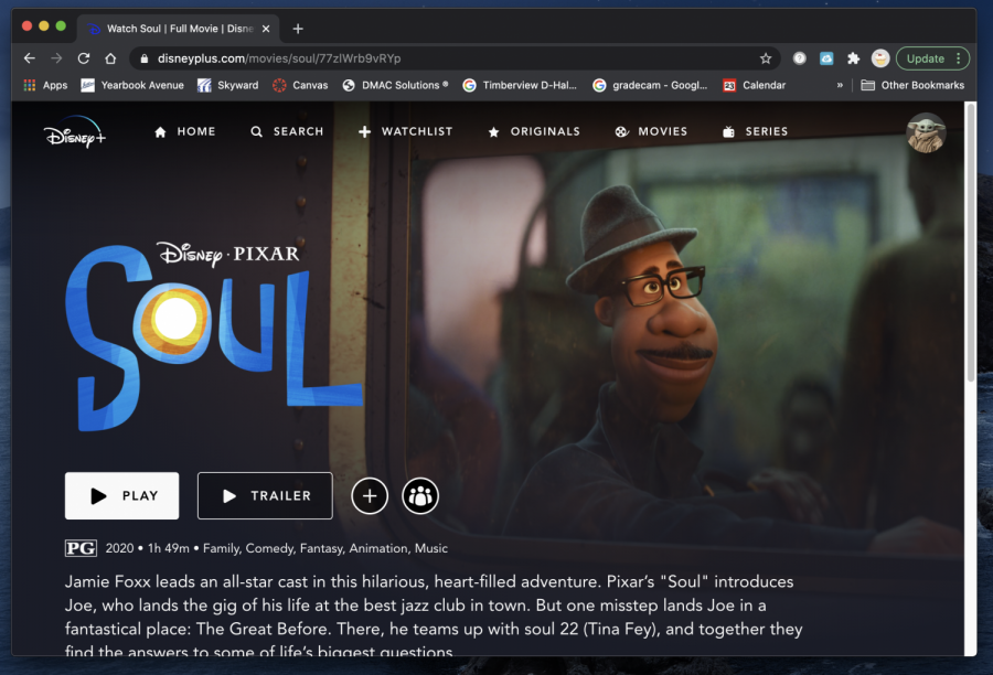 Watch Soul on now Disney+